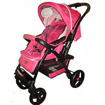 Коляска прогулочная Baciuzzi B8.4 Pink без сумки