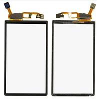 Сенсор (тачскрин) для Sony Ericsson MT11i Xperia Neo/MT15i черный