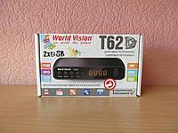 World Vision T62D цифровой эфирный тюнер DVB-T/Т2/C