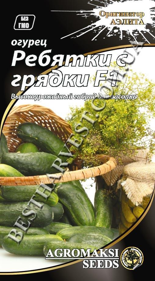 Семена огурца «Ребятки с грядки F1» 0.3 г