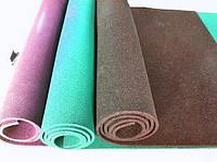 Резиновый коврик 1500х700х10 кофейный