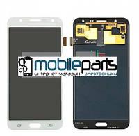 Оригинальный Дисплей (Модуль) + Сенсор (Тачскрин) для Samsung SM-J700H Galaxy J7 service (Белый)