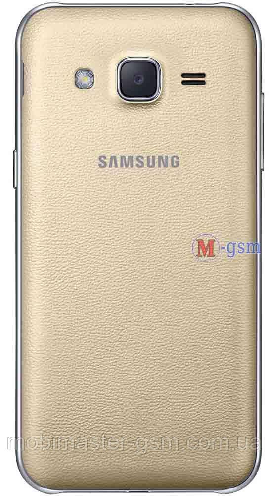 Задняя крышка Samsung J2 золотистая