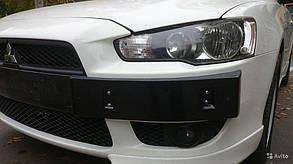 Подиум под номер Mitsubishi Lancer X