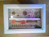 Шкатулка сундук для швейной фурнитуры