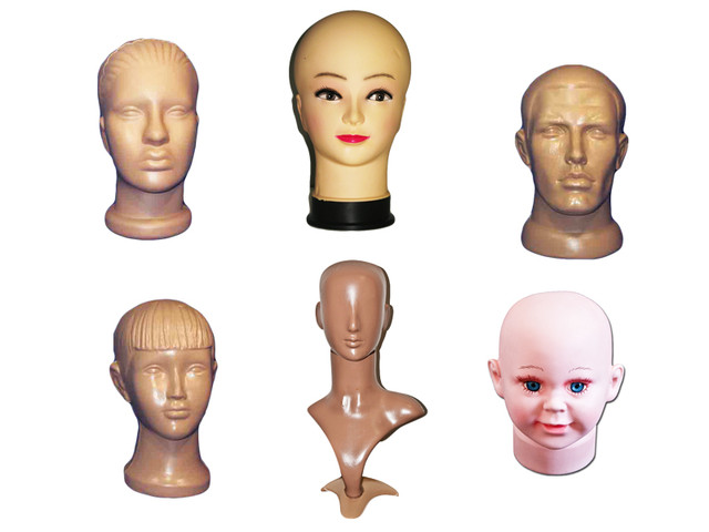 Манекены голов