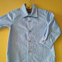 Детская рубашка длинный рукав 122