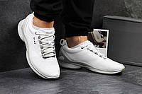 Белые мужские кроссовки Ecco