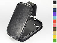 Откидной чехол из натуральной кожи для Samsung s5282 Galaxy Star Duos