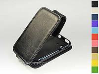 Откидной чехол из натуральной кожи для Samsung s5302 Galaxy Pocket Duos