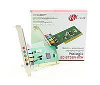 Звуковая карта ProLogix SC-8738N-6CN 6ch PCI RETAIL
