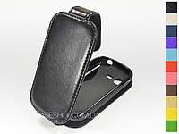 Откидной чехол из натуральной кожи для Samsung s5310 Galaxy Pocket Neo