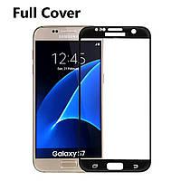 Защитное стекло Optima 2.5D 9H на весь экран для Samsung Galaxy S7 G930 черный