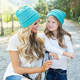 Демисезонные шапки детям и взрослым