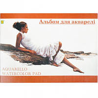 Альбом для акварели A4 10 листов «Коленкор»