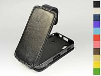 Откидной чехол из натуральной кожи для Samsung s5830 Galaxy Ace
