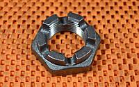 Гайка низкая М6 ГОСТ 5919, DIN 937 корончатая, прорезная, фото 1