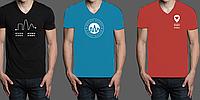 Печать на футболках (1 цвет нанесения, футболки Fruit of The Loom)