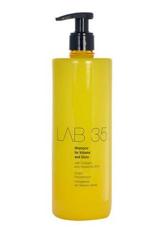 Шампунь Kallos Lab 35 Volum & Gloss для объема и блеска 500 мл, фото 2