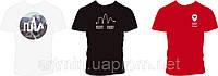 Прямая печать на футболках на груди и спине (полноцвет, мужские футболки Freederty)