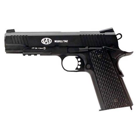 Пневматический пистолет SAS M 1911 Tactical Blowback, фото 2