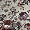 Мебельная ткань велюр Нирвана Пионы