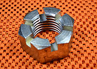 Гайка низкая М14 ГОСТ 5919, DIN 937 корончатая, прорезная