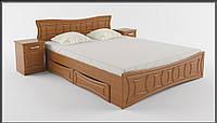 Двухспальная кровать с ящиками Созвездие Летро