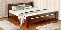Двуспальная кровать Летро Селена 160х200см орех