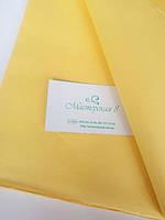 Тишью жёлтая яркая 50*65 см , бумага папирусная для помпонов и декора