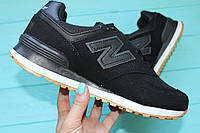 Мужские  кроссовки New balance Black/Черные