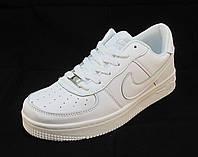 Кроссовки мужские Nike Air Force  белые (аир форсы)  (р.41,43,45)