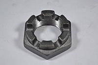 Гайка низкая М20 ГОСТ 5919, DIN 937 корончатая, прорезная