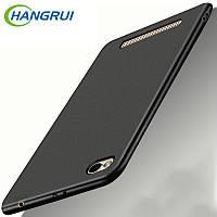 Чехол для Xiaomi redmi 4А силиконовый матовый Черный