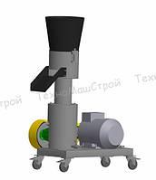 Гранулятор кормовых гранул МГК-150 (220 В, 4 кВт) матрица 150 мм, 100 кг/час