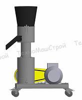 Гранулятор кормовых гранул  МГК-150 (380 В, 4 кВт) матрица 150 мм, 100 кг/час