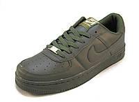 Кроссовки мужские Nike Air Force  хаки (аир форсы) (р.42,43,44,45)