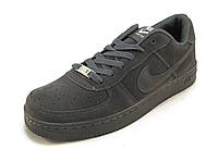 Кроссовки мужские Nike Air Force  серые (аир форсы)  (р.41,45)