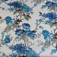 Мебельная ткань велюр Нирвана Голубая сирень