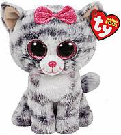 Мягкая игрушка Котенок Kiki Beanie Boo's TY 15см (37190)