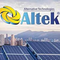 Сонячні батареї Альтек