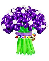"""Букет цветов из шаров """"Фиолет"""""""