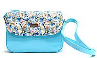 Женская сумка-клатч из искусственной кожи 62828584 Голубой