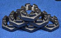 Гайка низкая М36 ГОСТ 5919, DIN 937 корончатая, прорезная