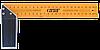 Кутник сталевий, 250 мм