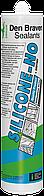 Den Braven SILICONE-NO 300мл Нейтральный санитарный силиконовый герметик <белый>