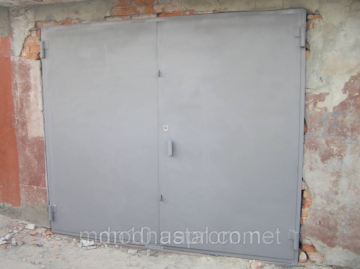 Ворота гаражные утепленные
