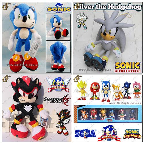Игрушки и аксессуары Sonic