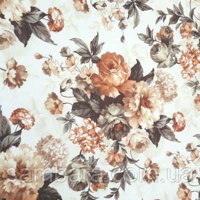 принт велюр нирвана  осенний букет nirvana  autumn bouquet 26.4