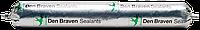 Силиконовый герметик стекольный <прозрачный> 600 мл Den Braven SILICONE-NO